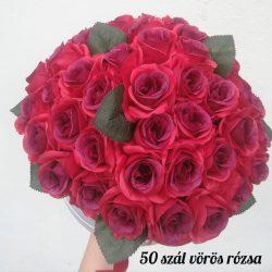 Ünnepi rózsadoboz (Többféle színben kérhető!) Rendelésre készül