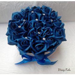 Blue Velvet habrózsa doboz