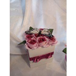 Lepkés rózsabox mályva