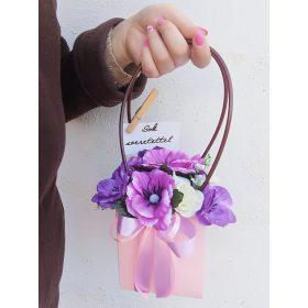 Vegyes virágdobozok