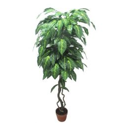 Philodendron fa műnövény 150 cm csíkos