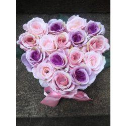 Romantic Heart (Választható 16 vagy 25 szálas)