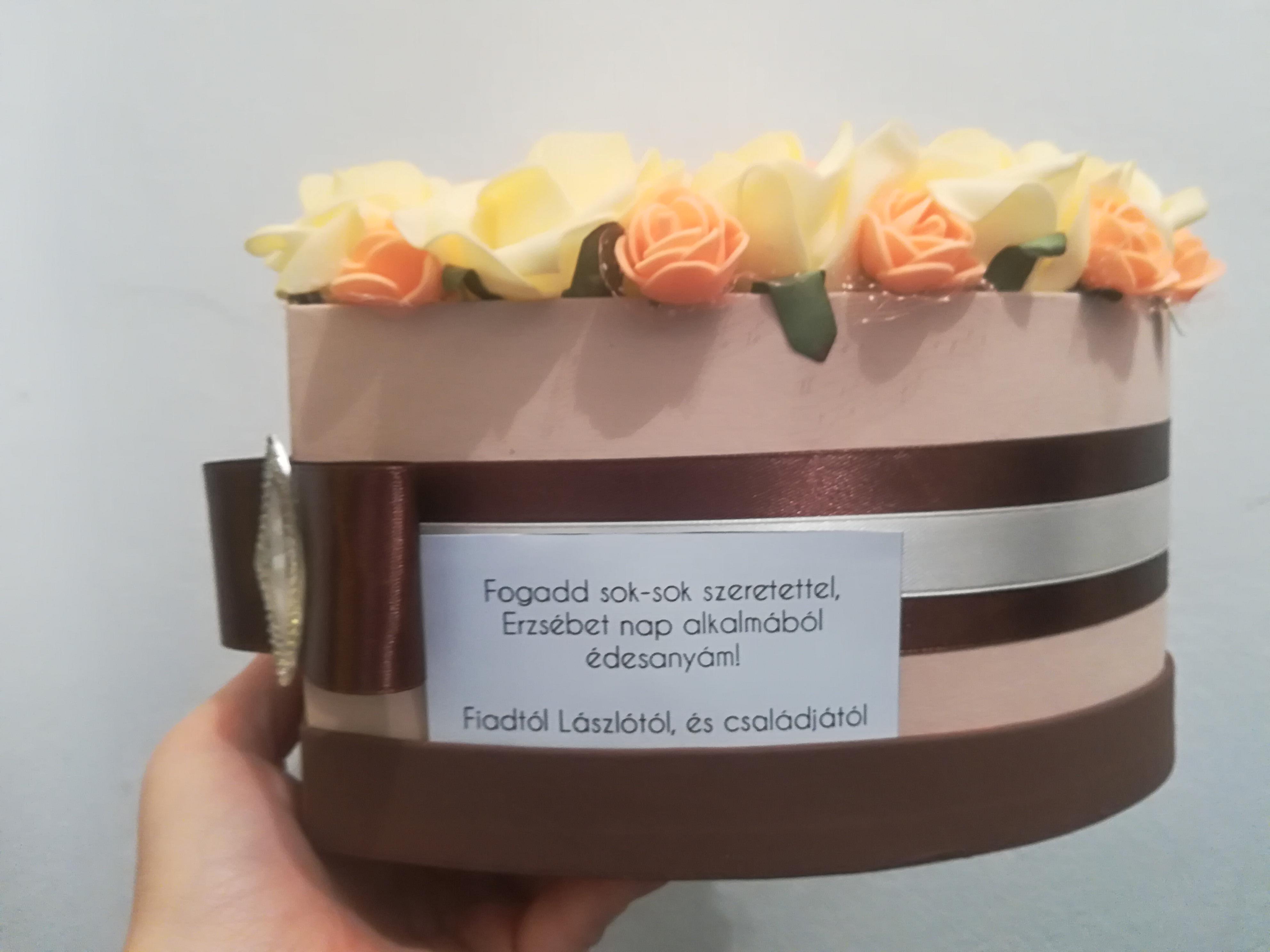 Erzsébet napi ajándék egyedi szöveggel