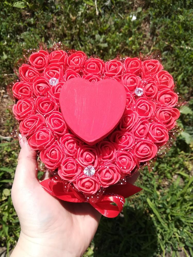 Ékszertartós rózsadoboz, esküvőre kérték